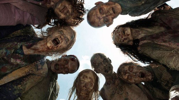 Here's one theory about why we're so obsessed with zombies