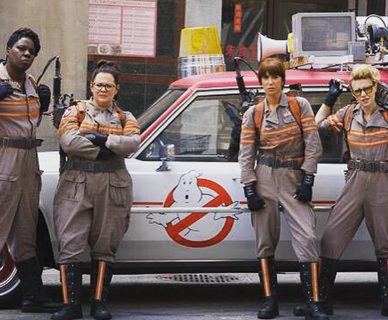 Melissa McCarthy's Ghostbusters' tweet makes our hearts swell with lady-pride