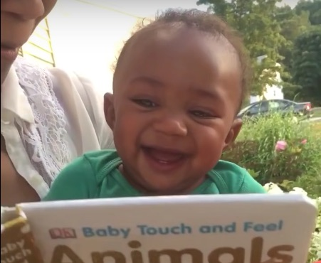 After watching this baby laugh hysterically, it's impossible to have a bad day