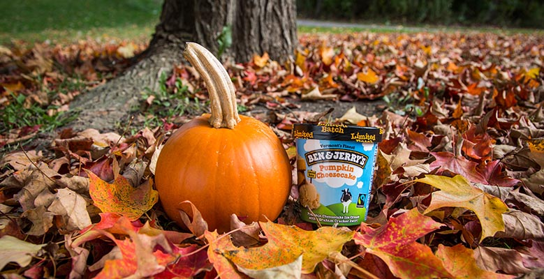 Ben & Jerry's pumpkin cheesecake ice-cream is coming, because fall is the best