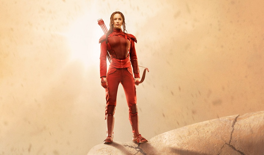 The new 'Hunger Games' poster ups the intensity by about a thousand