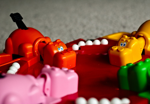Real life Hungry Hungry Hippos is a thing and it's brilliant