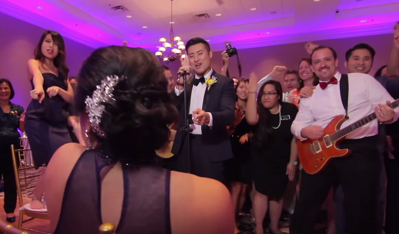 This epic 250-person wedding dance shot in one take is totally mesmerizing