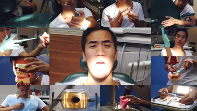 "This cover of ""Can't Feel My Face"" uses only dental tools, is brilliant"