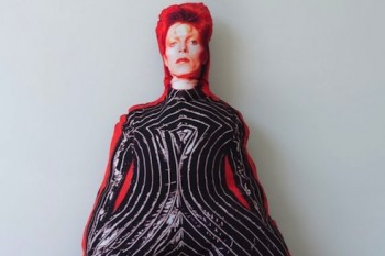 So there's a life-size David Bowie pillow