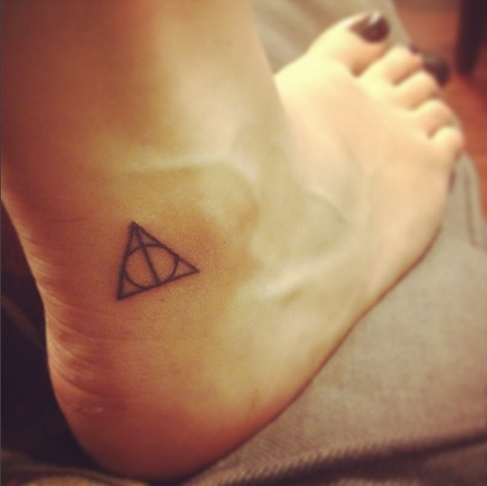 Why I got the same Harry Potter tattoo as hundreds of strangers
