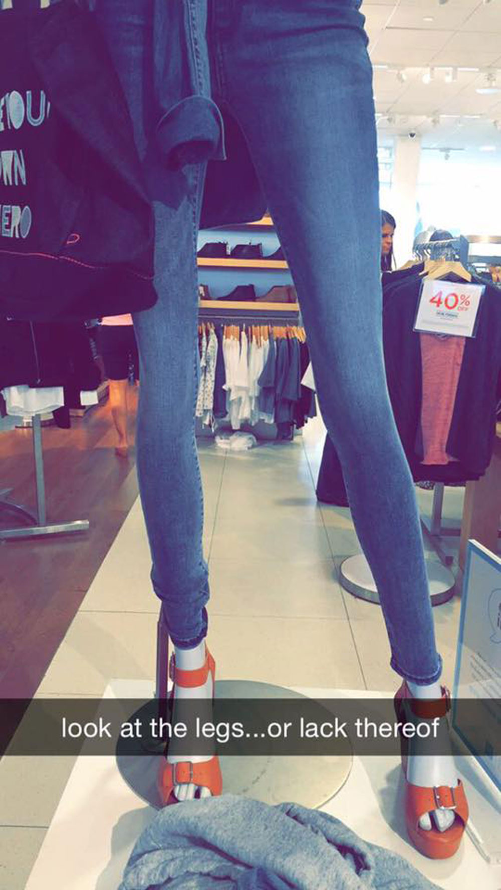 This teen is bringing much-needed attention to Gap's unrealistic mannequins