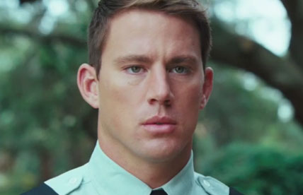 Guys. Channing Tatum is a time-traveling WWI soldier, and here's proof
