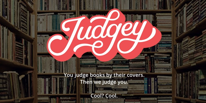 Meet 'Judgey': The game that literally lets you judge a book by its cover