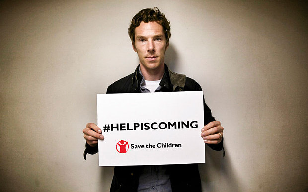 Benedict Cumberbatch has an important message for refugees