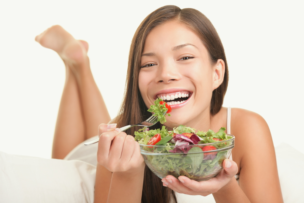 The 'women laughing alone with salad' meme is now a play