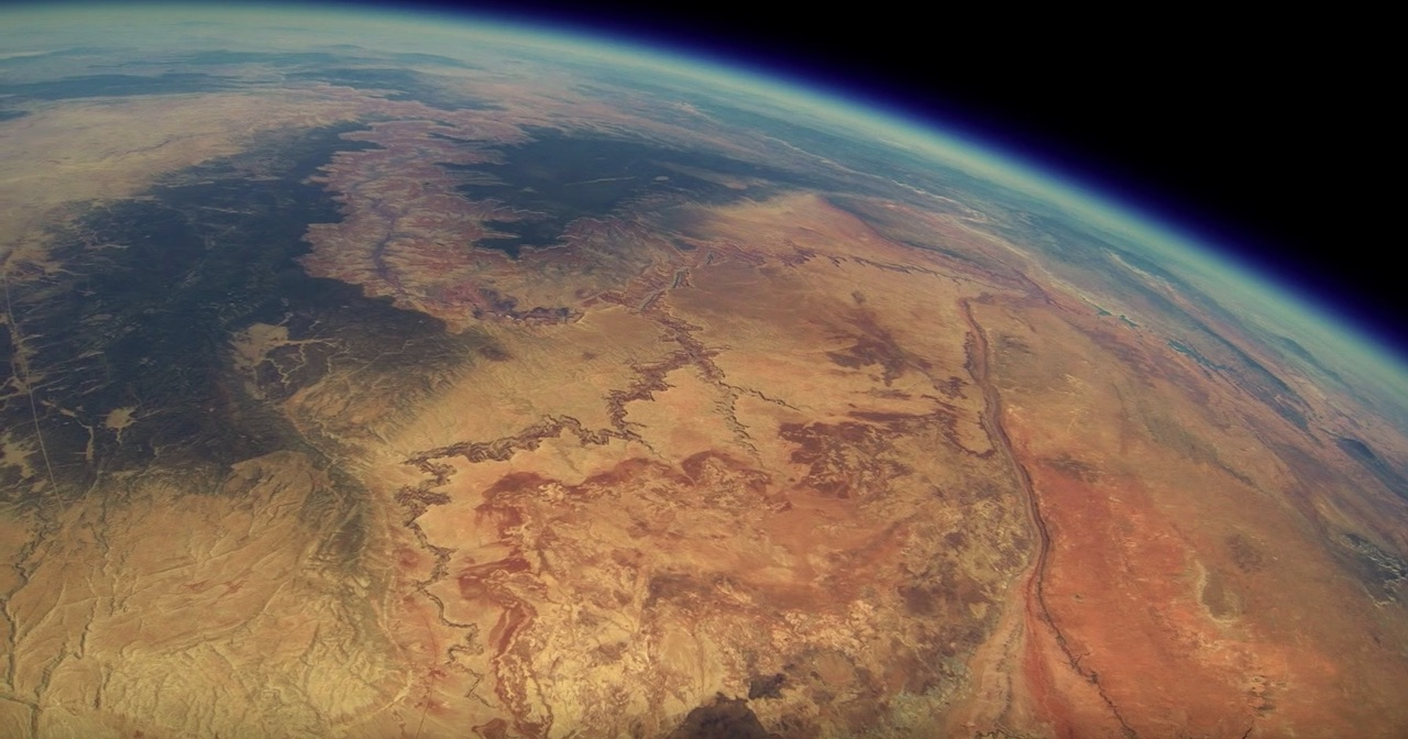 These friends sent a GoPro up into the stratosphere to film the Grand Canyon – and the results are GORGEOUS