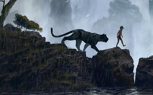 Here's our first look at the live action 'Jungle Book' movie