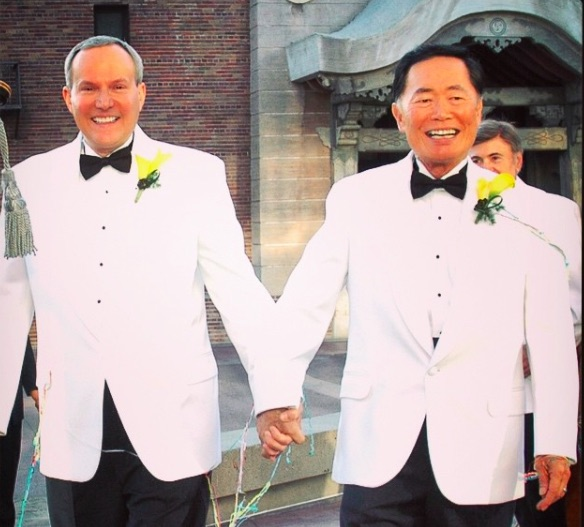 Our hero, George Takei, takes an awesome stand for marriage equality