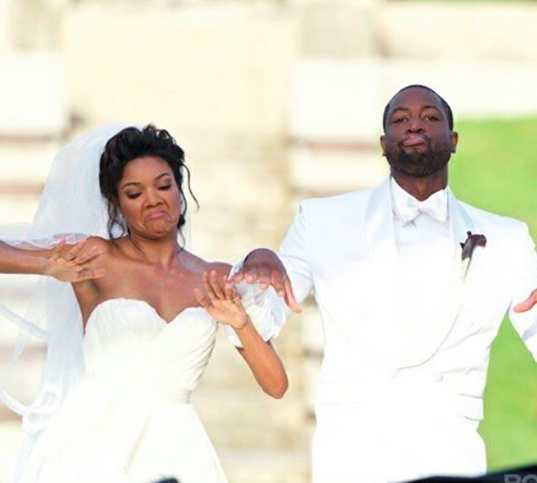 Gabrielle Union edited her wedding video like a rom-com and it's perfection