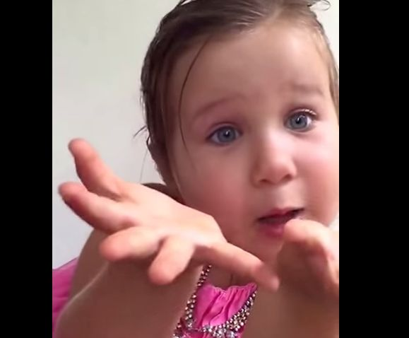 Watch this little girl school her dad on why she's NOT a princess
