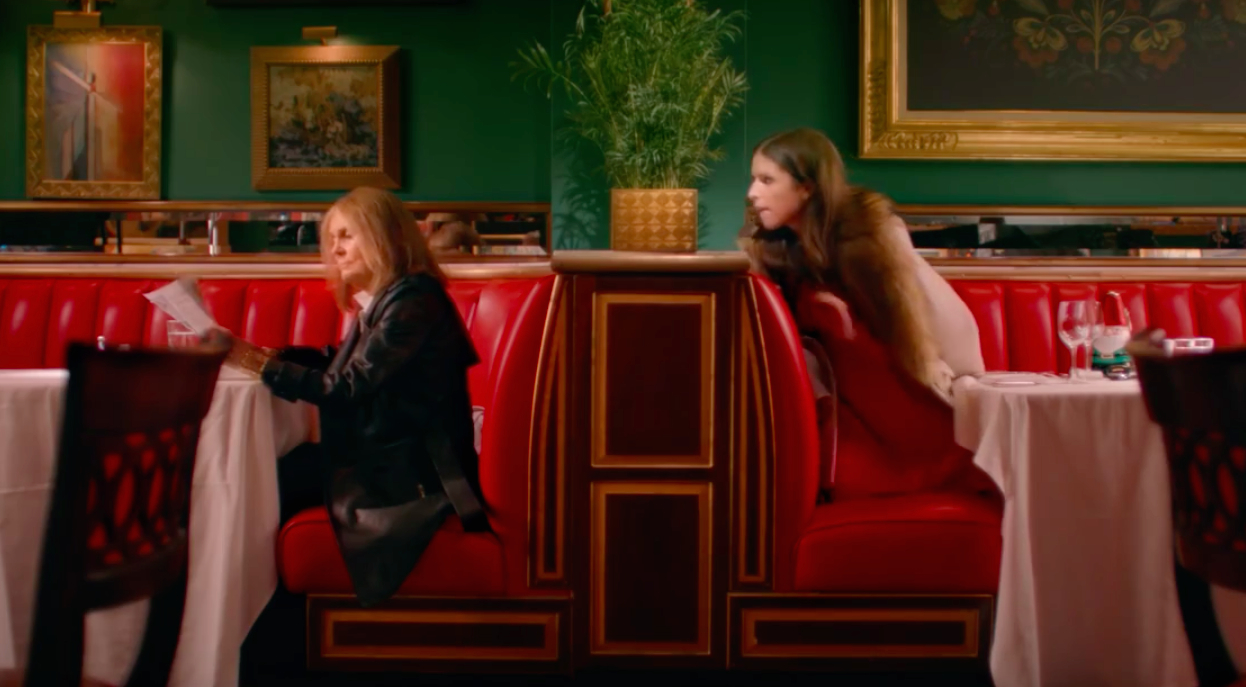 Gloria Steinem + Anna Kendrick = the new Kate Spade commercial