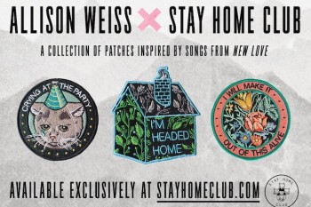 Talking music (and rad lyrical patches) with Allison Weiss and Stay Home Club's Olivia Mew