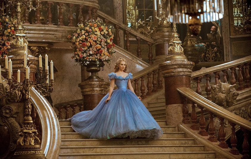 The inspiration for Disney's 'Cinderella' ballgown, according to its designer