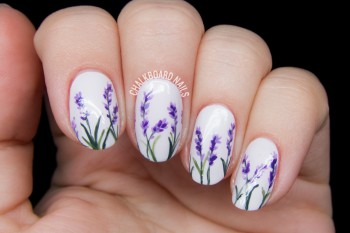 Nails of the Day: Wild lavender