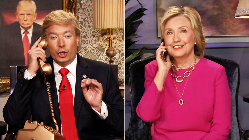 Hillary Clinton zings Donald Trump on 'The Tonight Show'