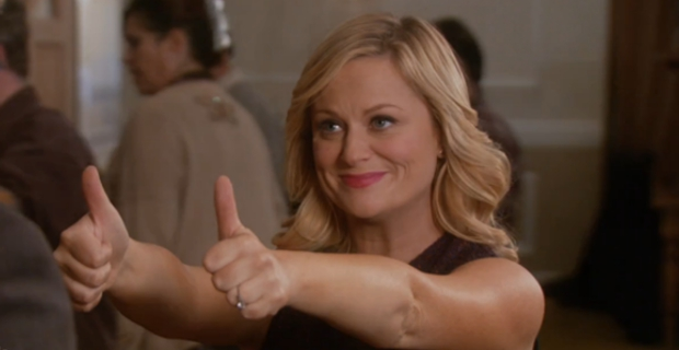 Life, Leslie Knope and the pursuit of happiness