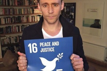 How you (and Tom Hiddleston) can make a huge difference with one selfie