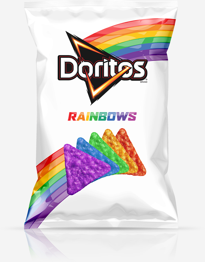 Doritos have embraced the rainbow for an awesome reason