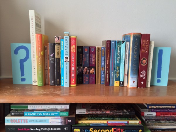 DIY (and totally cute) punctuation bookends