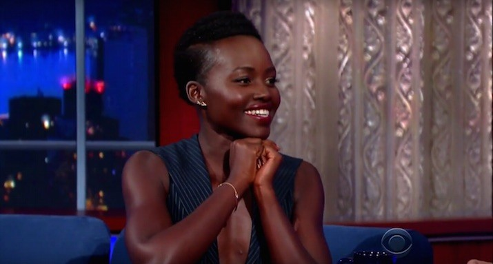 Lupita Nyong'o does silly walks because she's perfect