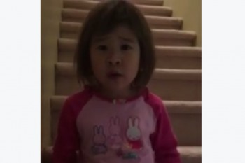 This video of a little girl asking her divorced parents to be friends is heart-wrenching