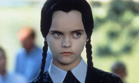 "Christina Ricci is ""dressed up"" as Morticia Addams, and it ..."