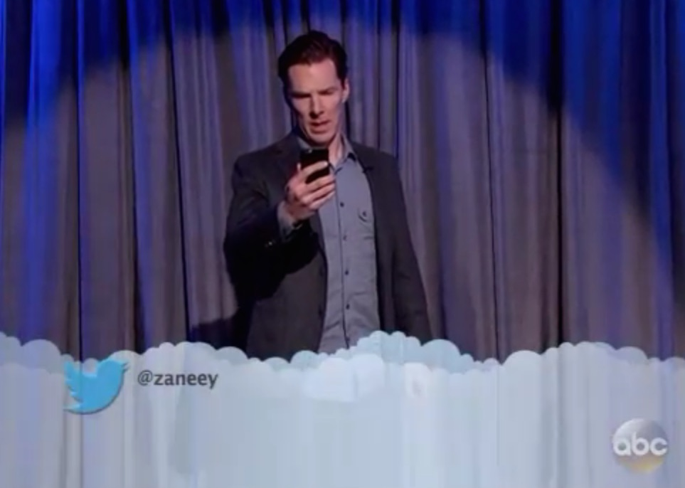 Kristen Bell, Benedict Cumberbatch read Mean Tweets—we can't process the feelings