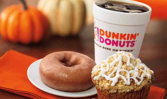 Dunkin' Donuts is delivering soon, which means you'll basically never have to leave your house again