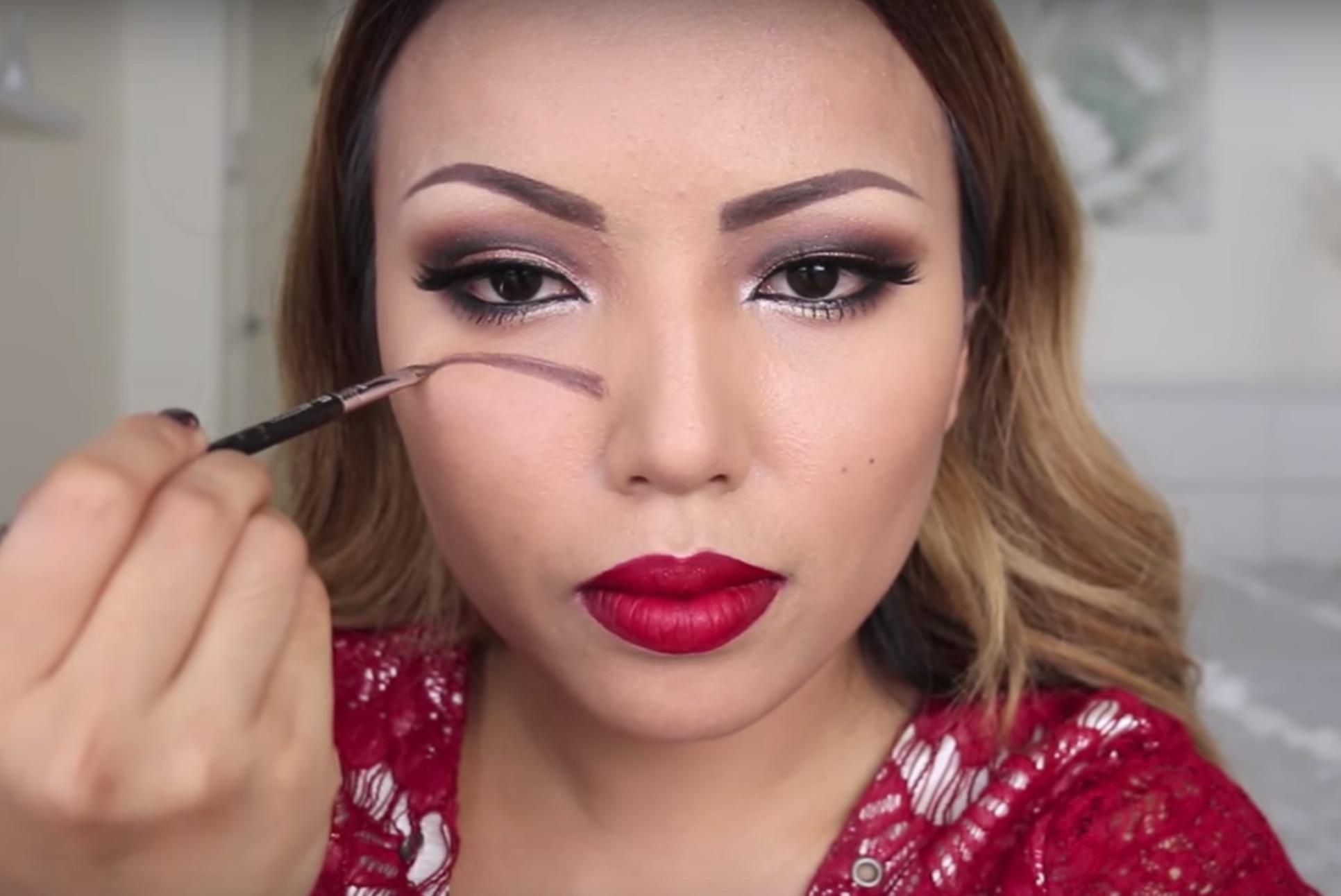 This viral Halloween makeup tutorial might actually give you nightmares