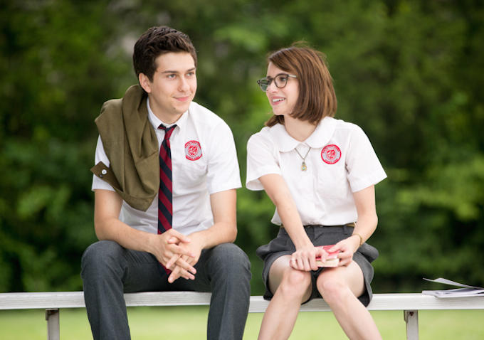 Emma Roberts on her first kiss with Nat Wolff: It got awkward.