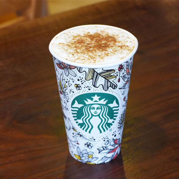 Starbucks' first new fall drink in FOUR YEARS