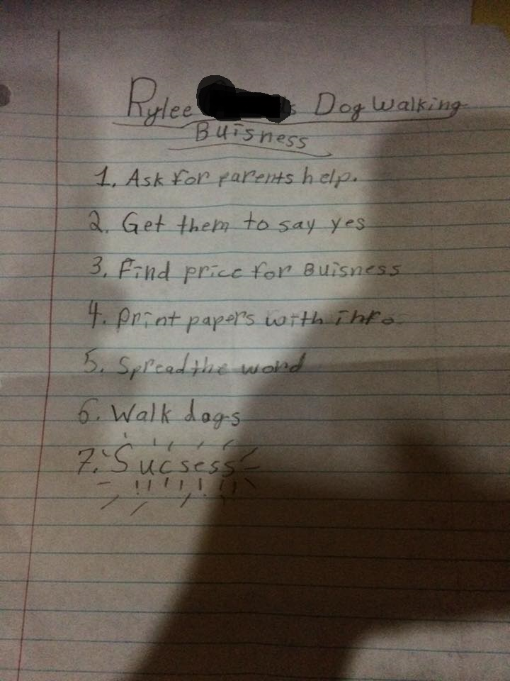 This 9-year-old girl's business plan will slay your heart