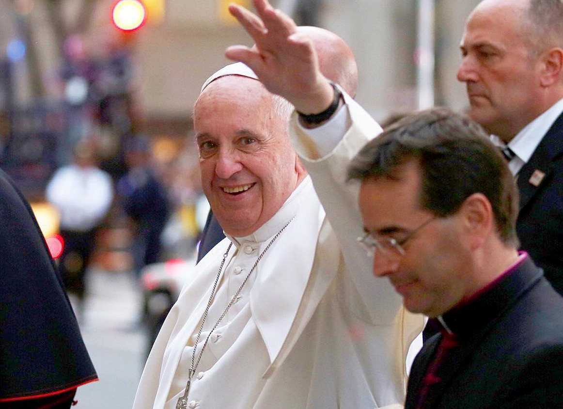 Here's a first: The Pope is dropping an album