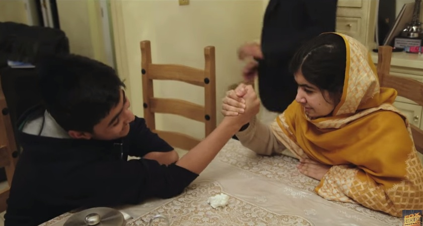 Watch Malala be a total big sister in this sweet clip from 'He Named Me Malala'
