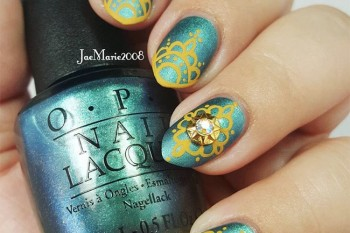 Nails of the Day: Modern henna