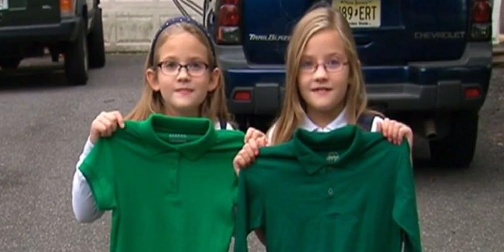This 8-year-old girl was suspended for wearing the wrong shade of green