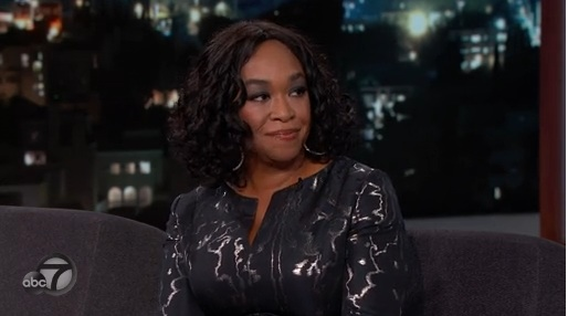 Shonda Rhimes was crazy-nervous about her Jimmy Kimmel interview, but she did it BECAUSE SHE'S A GLADIATOR