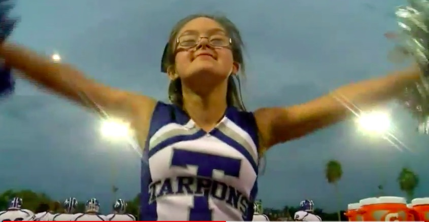 This high school cheerleader has Down syndrome, and she's inspiring people everywhere with her killer dance moves