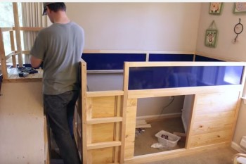 The best dad makes the best IKEA hack for his son