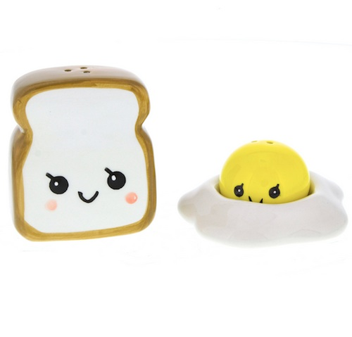 Season all of your food with the cutest shaker set ever
