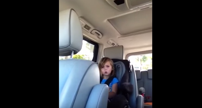This little girl is just heartbroken that Adam Levine is married