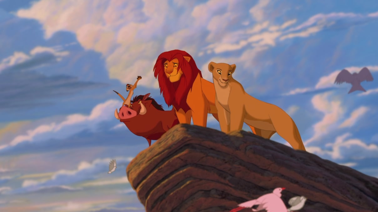 Image result for the lion king 1994 ending