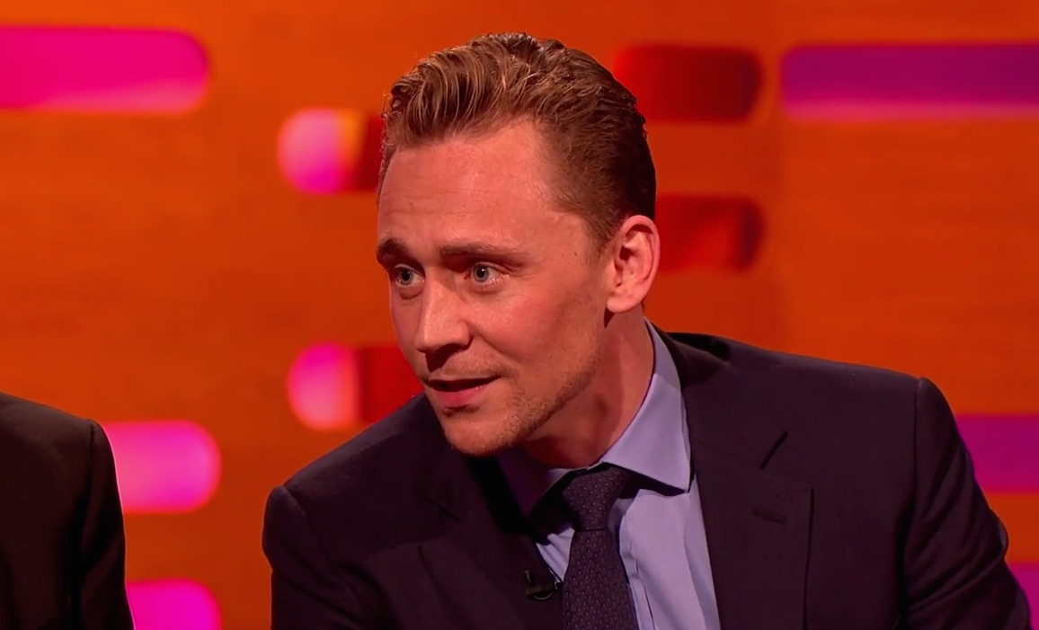 Tom Hiddleston is able to impersonate ALL the celebrities, because his acting talent knows no bounds