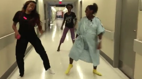 "This woman in labor just danced the ""Whip/Nae Nae"" while waiting to give birth, and it's just as epic as it sounds"
